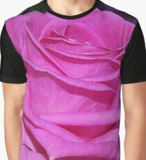 Pink Rose Graphic T-Shirt