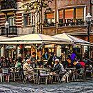 Barcelona restaurant by Brian Tarr