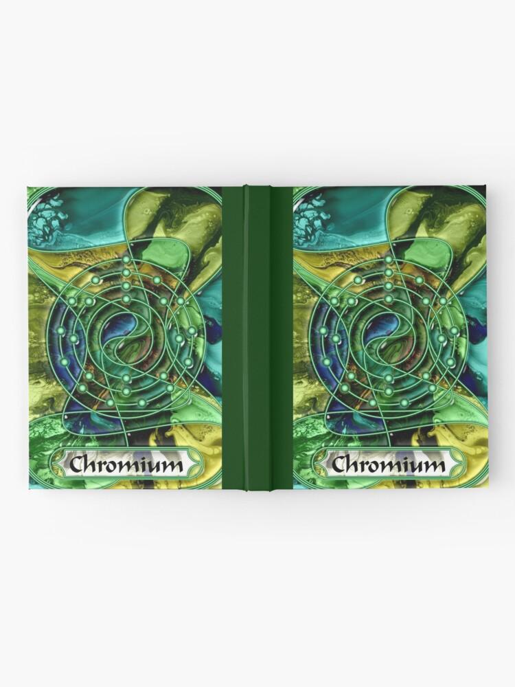 Alternate view of Element 24: Chromium Hardcover Journal
