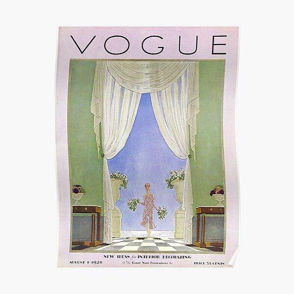vogue vintage Poster