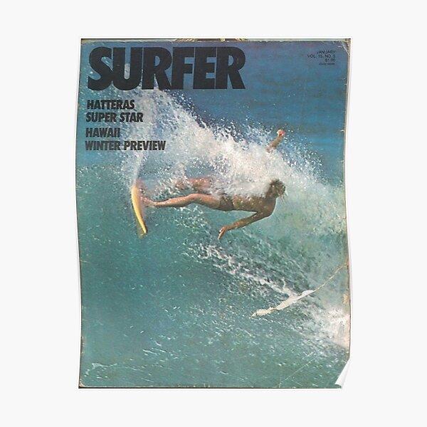 surfer magazine vintage Poster