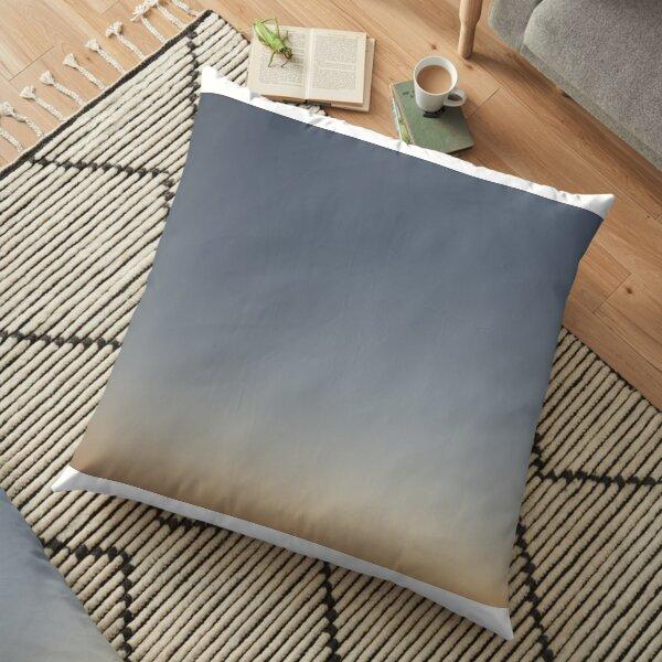 Soft Gradient Home Decor Floor Pillow
