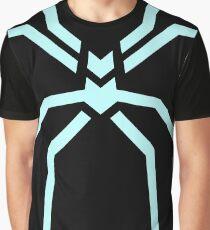 Stealth Spider Blue Graphic T-Shirt
