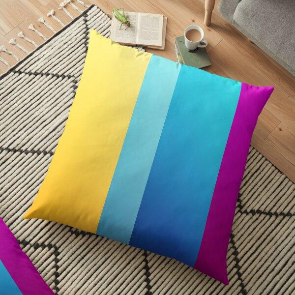 Rainbow Design For Home Decor Items Floor Pillow