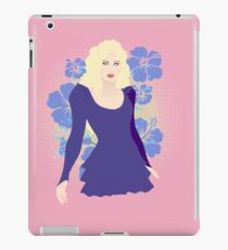 80s Cartoon Pinup iPad Case/Skin