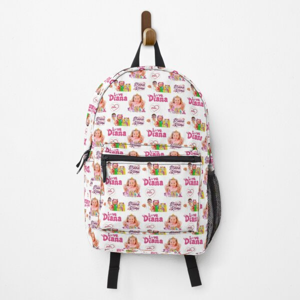 The Kids Diana Show, Diana Sticker Pack Backpack