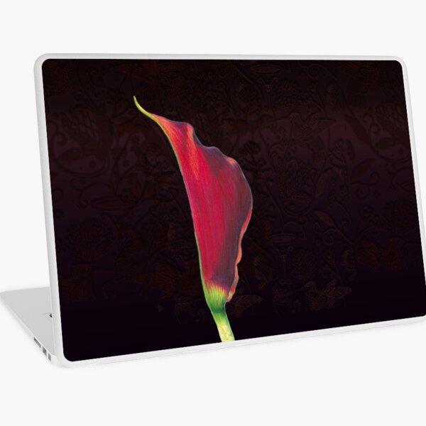 Red Arum Lily Laptop Skin