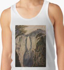 Watercolor landscape Tank Top