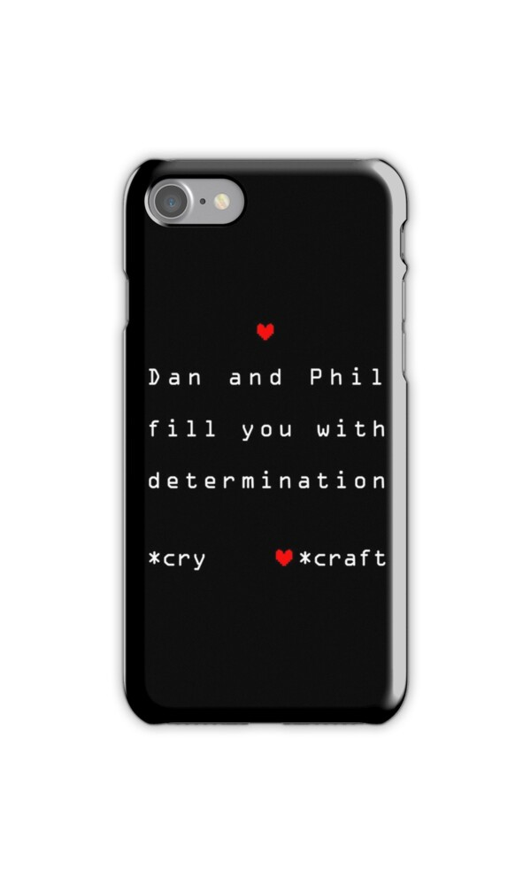 Quot Dan And Phil Undertale Quot Iphone Cases Amp Skins By Gemart