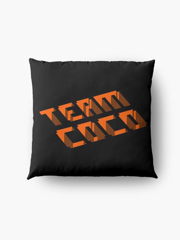 Alternate view of Team COCO (Isometric) Floor Pillow