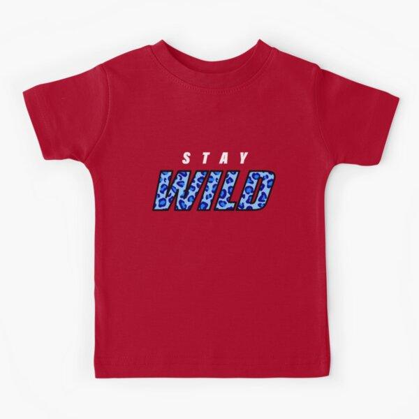 Stay Wild Ben Azelart Youtuber Kids T-Shirt