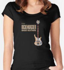 Enjoy Rickenbacker Bass Guitars Women's Fitted Scoop T-Shirt