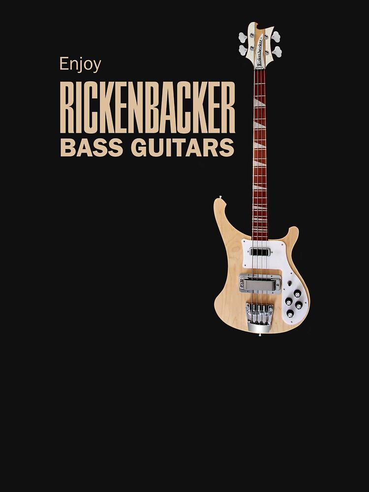 Enjoy Rickenbacker Bass Guitars by Dardman
