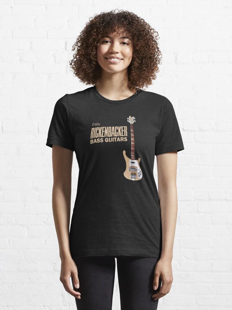 Alternate view of Enjoy Rickenbacker Bass Guitars Essential T-Shirt
