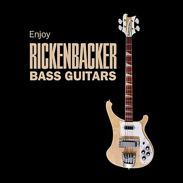 Enjoy Rickenbacker Bass Guitars by Dardman