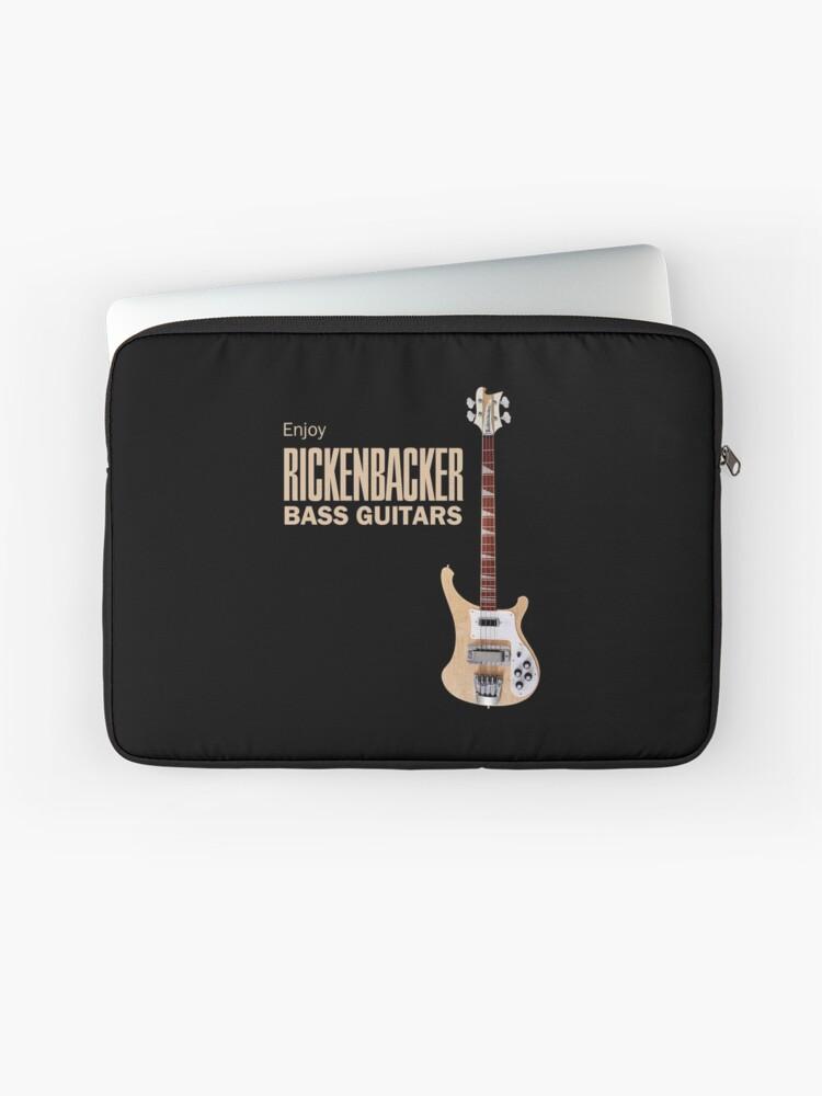 Enjoy Rickenbacker Bass Guitars   Laptop Sleeve