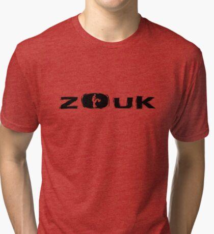 dancing brazilian zouk Tri-blend T-Shirt