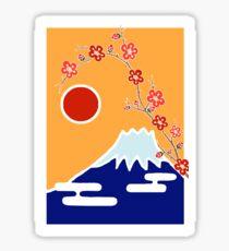 Mount Fuji in Spring Sticker