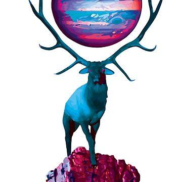 Interplanetary Deer by Geier