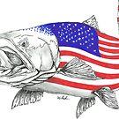 American Steel Head Salmon by Statepallets