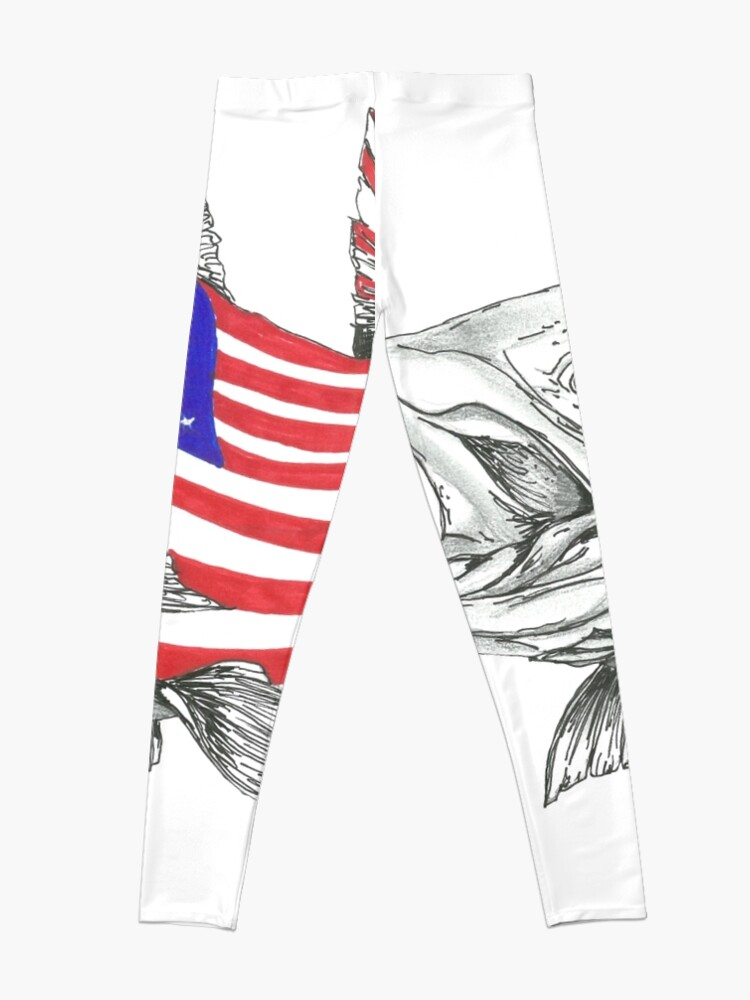 Vista alternativa de Leggings American Steel Head Salmon