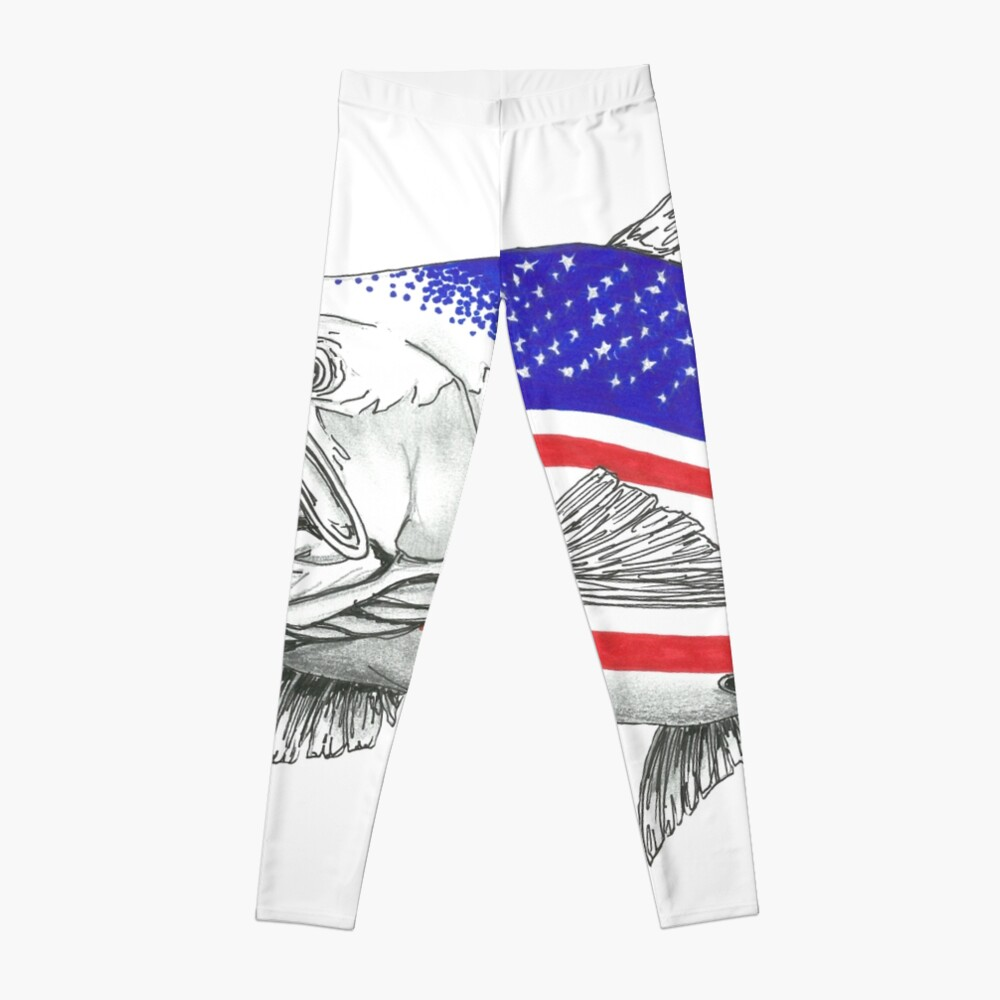 American Steel Head Salmon Leggings