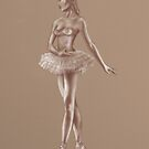 Ballerina Sketch by Paul Fleet