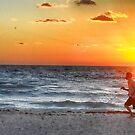 Sunrise Jog by Imagery