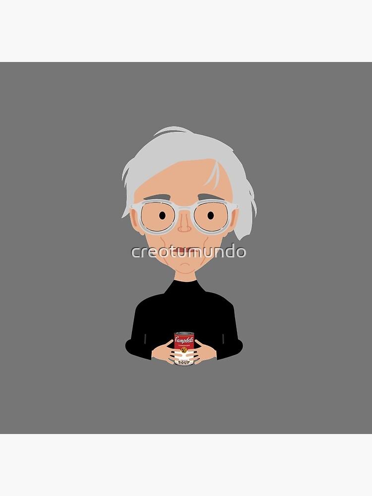 Andy Warhol de creotumundo