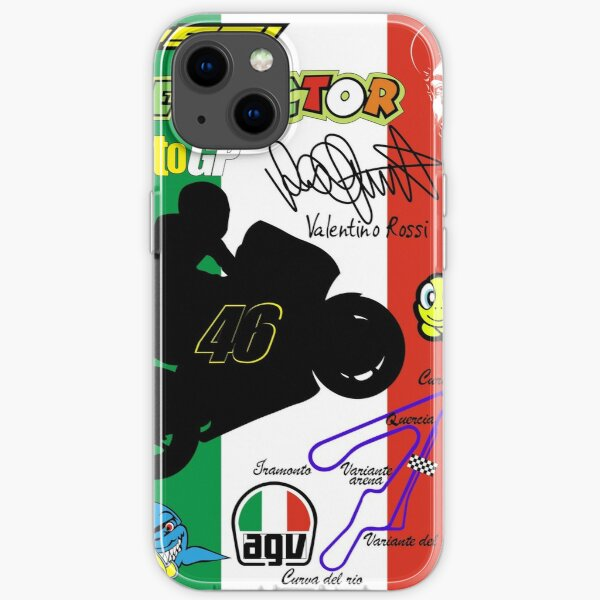 Valentino Rossi iPhone Flexible Hülle