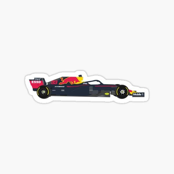 Coche Red Bull Racing Honda F1 RB16B 2021 Pegatina