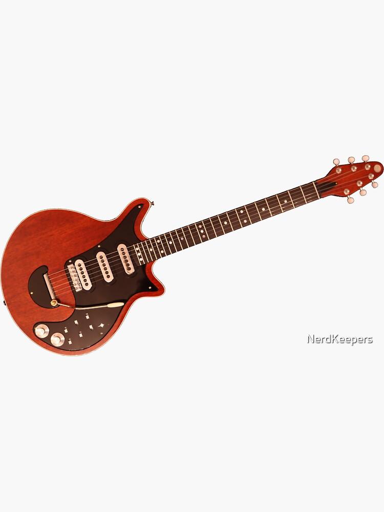 Guitarra de Brian May (especial roja) - Queen de NerdKeepers