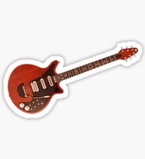 Brian May's Guitar (Red Special) - Queen Sticker