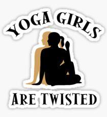 Very Funny Yoga T-Shirt Sticker