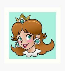 Princess Daisy Art Print