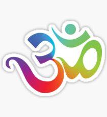 Yoga Om Symbol T-Shirt Sticker