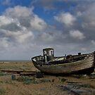Broken down old fishing boat by Paul Fleet
