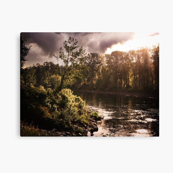 Oregon Mornings Canvas Print