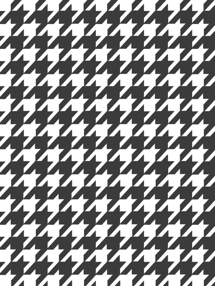 Houndstooth Pattern by Lafara