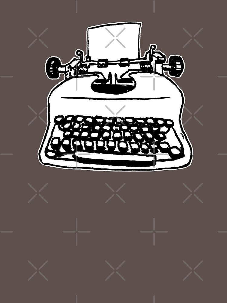 «Vieille machine à écrire» par thedrumstick