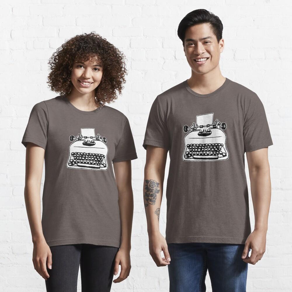 T-shirt essentiel «Vieille machine à écrire»
