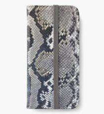 Python snake skin texture design iPhone Wallet/Case/Skin