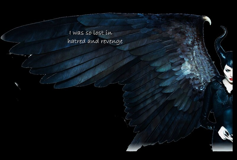 Maleficent Wings Lamina Artistica