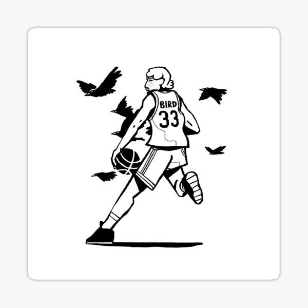 Larry Bird Sticker
