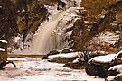 Linville Falls Snowfall  by Miles Moody