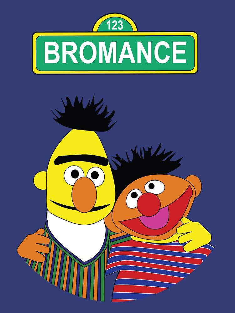 The Bromance of Ernie & Bert | Unisex T-Shirt