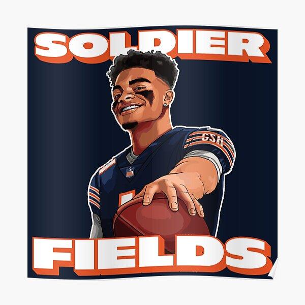 Soldatenfelder, Justin Fields, Chicago Bears Poster