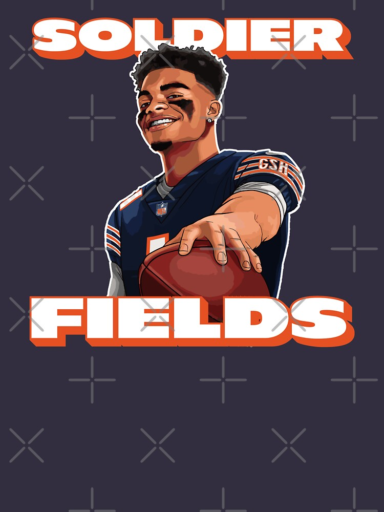 Soldier Fields, Justin Fields, Chicago Bears by be-claireful