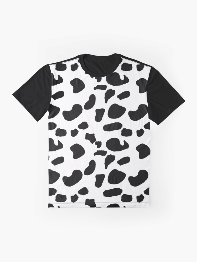 Alternate view of Black Blotches Graphic T-Shirt