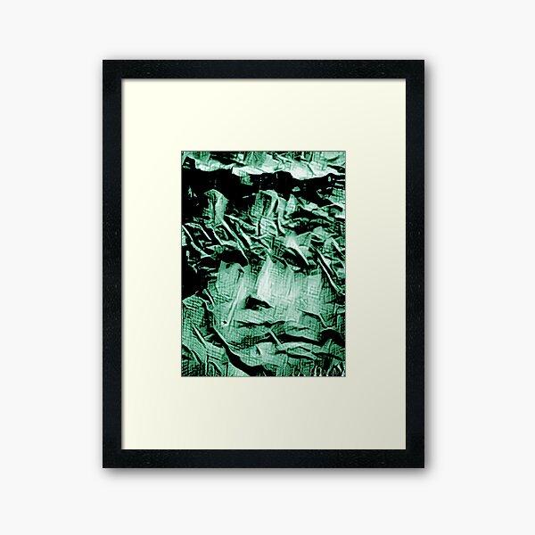 Lady Liberty of Mars Framed Art Print